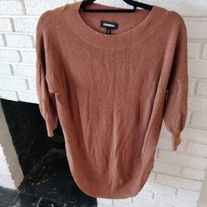 Express Batwing 3/4 length sleeve sweater